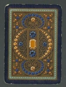 Swap-Playing-Cards-1-WIDE-VINT-ENG-EXQUISITE-JEWELS-amp-MORE-JEWELS-STONES-EW208