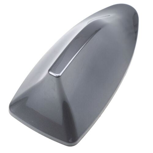 Grey Car Auto Shark Fin Universal Roof Antenna Radio FM//AM Decorate Aerial
