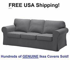item 1 Ikea EKTORP Three (3) Seat Sofa Slipcover Cover NORDVALLA DARK GRAY New! Sealed! -Ikea EKTORP Three (3) Seat Sofa Slipcover Cover NORDVALLA DARK GRAY ...  sc 1 st  eBay : sectional sofa slip cover - Sectionals, Sofas & Couches