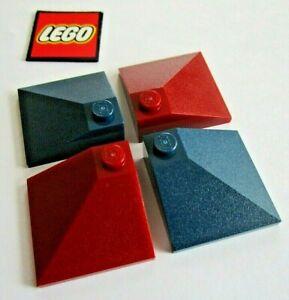 Lego-Slope-25-3x3-ECKE-ZIEGEL-4-Pack-Design-3675