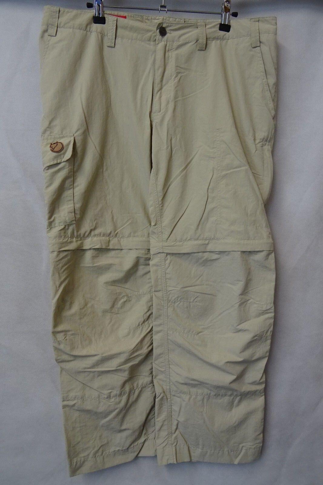 Men's Fjallraven Outdoor Trousers Trekking Combat Size W36 L28 AA2522