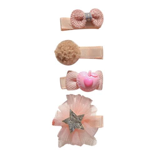 Baby Hair Clip Infant Korea Cute  Girl Baby Headdress Princess Bow Side Clip