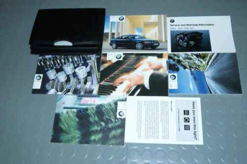 2003 BMW 325Ci 330Ci Owners Manual SET for Coupes