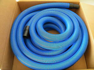 Carpet-Cleaning-Blue-50-039-Crush-Proof-Vacuum-Hose-1-1-2-034