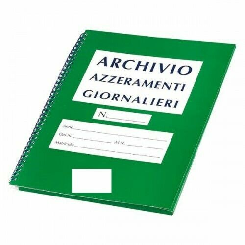 Cartella Archivio Azzeramenti di cassa Giornalieri 230x300 Per #0776