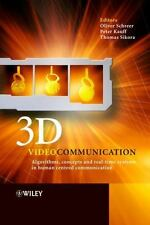 3D Videocommunication: Algorithms, concepts and real-time systems in h-ExLibrary