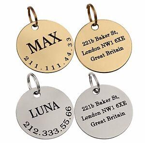 Etiqueta-de-identificacion-personalizada-para-Mascota-Perro-Identificacion-Grabada-Personalizada
