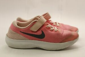 Nike-Flex-Tennis-shoes-girl-pink-size-3-Y-used