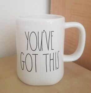 NEW-RAE-DUNN-by-Magenta-YOU-039-VE-GOT-THIS-Coffee-Tea-Mug-Graduation-Home-Decor