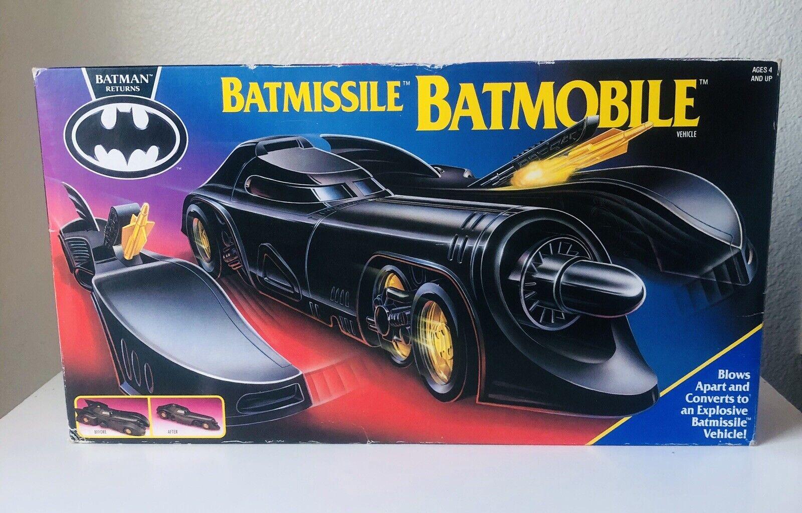 Batmissil Batbilene 1991 läderlappen Returnerar av Kenner