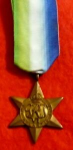 Atlantic Star is a Campaign Medal Issued to British Commonwealth Forces in WW2