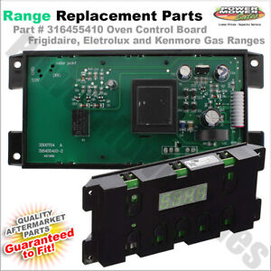 Details about 316455410 Frigidaire, Eletrolux and Kenmore Oven Control  Board For Gas Ranges