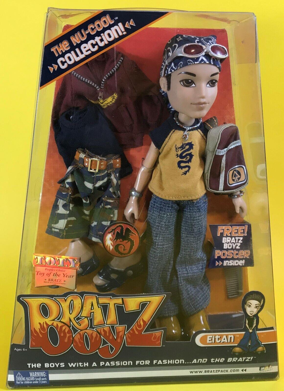 2003 MGA BRATZ BOYZ BOY EITAN DOLL w CLOTHES schuhe OUTFIT FASHIONS BRATS BOYS