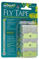 (8) Ea Rescue Ft-sf8 3 Pack Sticky Fly Catcher Trap / Tape / Ribbon