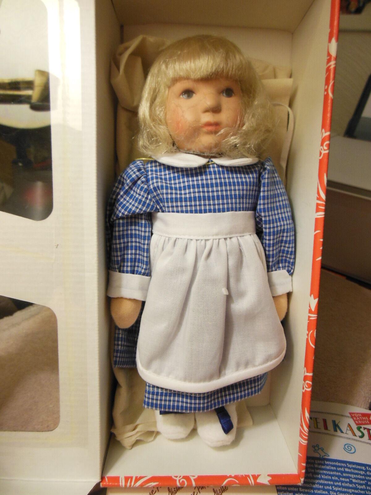 10   Kathe Kruse   Thumbelina   NRFB. German doll  UFDC exclusive