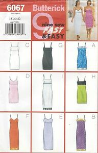 Butterick-6067-Misses-039-Miss-Petite-Dress-Sewing-Pattern