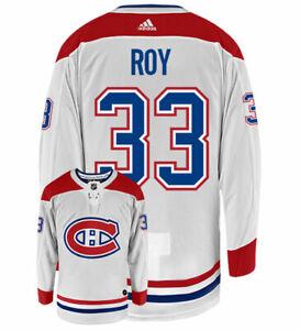 Contable Burlas Santuario  Patrick Roy Montreal Canadiens Adidas Authentic Away NHL Vintage ...