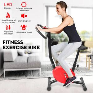 Indoor-LED-Display-Exercise-Bike-Adjustable-Resistance-Cardio-fitness-Workout-G