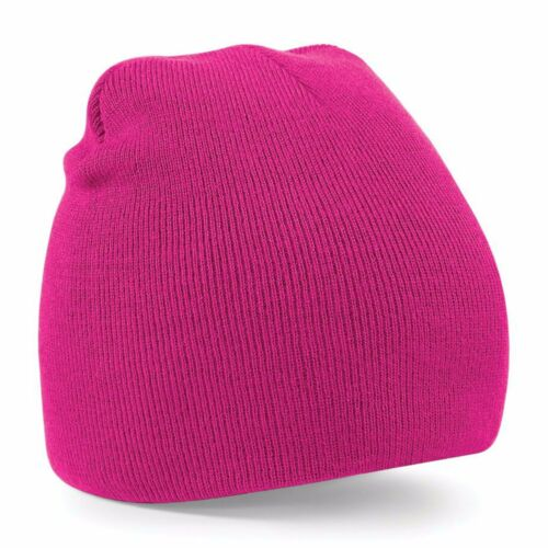 Beanie Hat Knitted Woolly Hat Cuffless Skater Ski Winter Warm Mens Womens Ladies