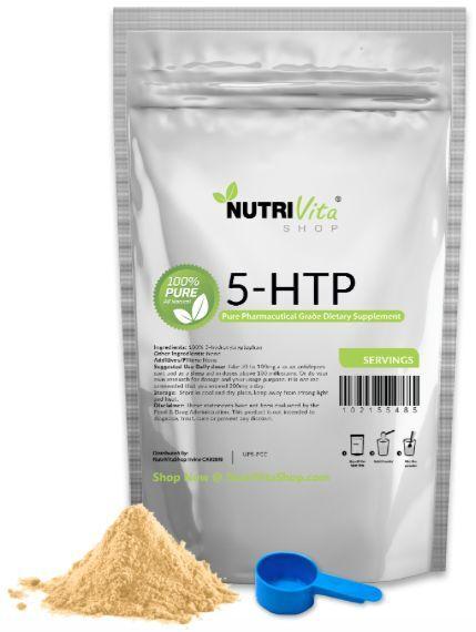 5-HTP 100% PURE PURE 100% Powder 250 grams NEW Anti-Depressant Mood Enhancer USP GRADE ed3214