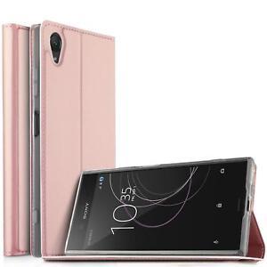 Sony-Xperia-XA1-Etui-Rabattable-Telephone-Portable-Pochette-Coque-Protection