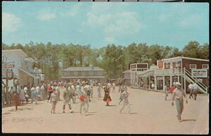 Details about OCEAN CITY MD Frontier Town Street Scene Saloon Vintage  Maryland Postcard Old