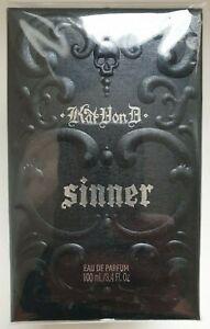 Kat-Von-D-Sinner-Perfume-100ml-edp-spray-BNIB-Sealed-Vegan-Official-KVD