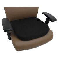 Alera Cooling Gel Memory Foam Seat Cushion, 16 1/2 X 15 3/4 X 2 3/4, Black on sale