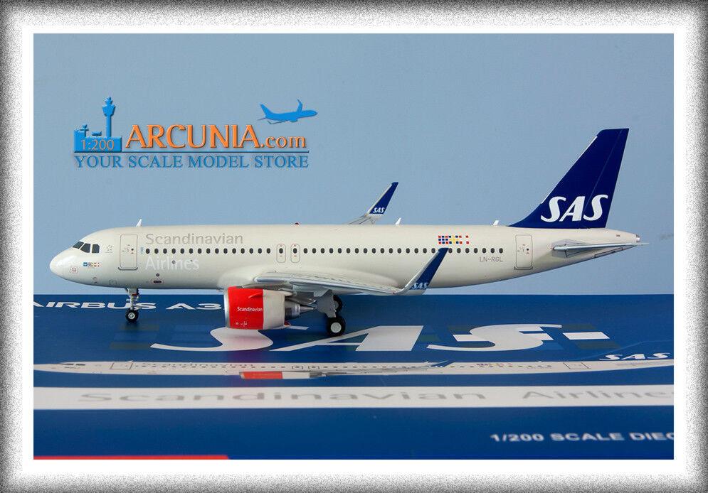 Gemini200 - JC Wings 1 200 SAS Airbus a320neo  LN-RGL  XX2171