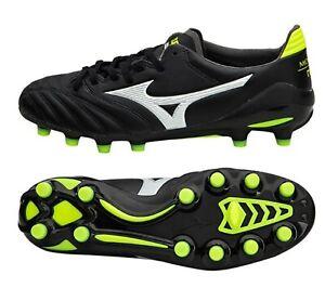 dcea8729e58b Mizuno Men Morelia Neo II MD Cleats Soccer Black Football Spike Boot ...