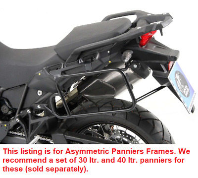 2016-17 Asymmetric Sidecarrier Lock-it Black BY H/&B Honda CRF1000 Africa Twin