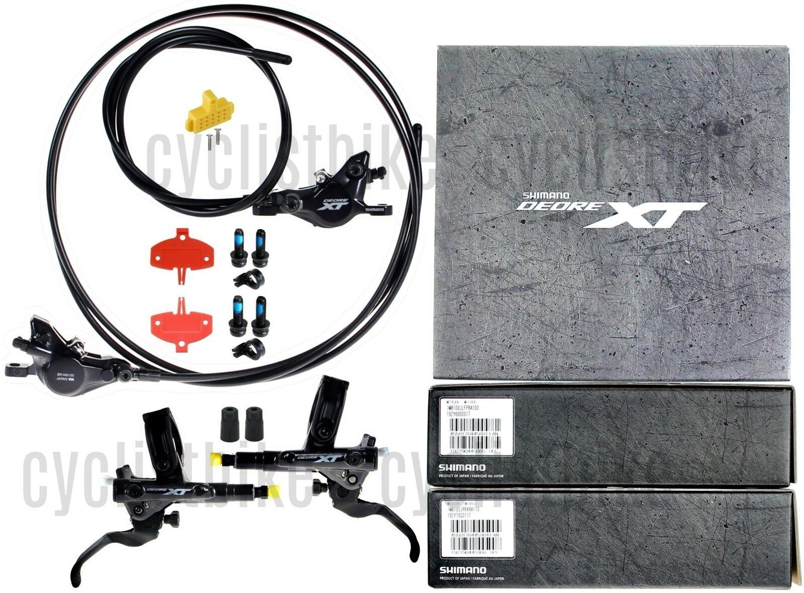 2019 Shimano XT BR-M8100 Scheibenbremse J Set 1000 1700 MTB NIB
