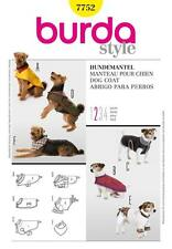 Burda Costura Patrón abrigos perro fácil 7752 un