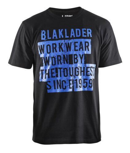 Blakläder T-Shirt Toughest seit 1959 Limited 9159 1042 in schwarz//kornblau
