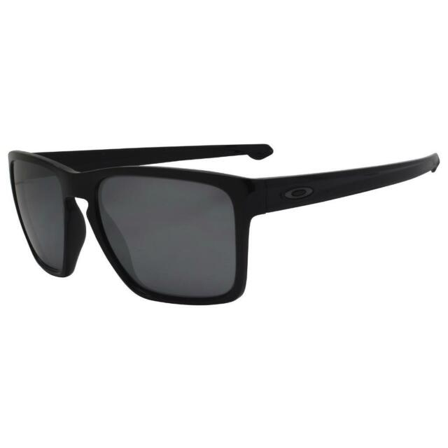 e4cb1085dc Oakley OO 9341-05 SLIVER XL Polished Black w  Black Iridium Lens Mens  Sunglasses