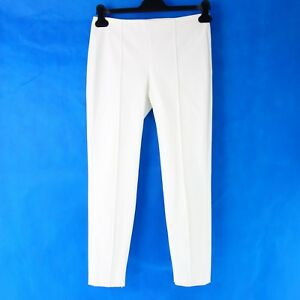 b3d38d1ebc Theory Women Pants Alettah Size 2 34 White Skinny Cloth Pants ...