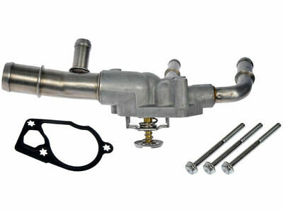 For GMC Envoy Engine Coolant Thermostat Housing Assembly Dorman 98646CP