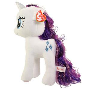 f553c78e957 TY Beanie Buddy - My Little Pony - RARITY (Large Size - 15 inch ...