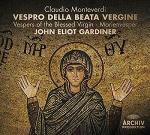 Claudio Monteverdi - Vespro Della Beata Vergine [New & Sealed] Digipack 2CD