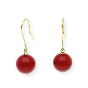 Castellano-Jewels-Pendientes-Mujer-Coral-y-Oro-de-Ley-18K