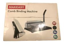 Makeeasy Comb Binding Machine