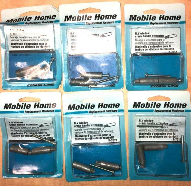 1-1//8, Prime-Line Products R 7013 Diecast RV and Mobile Home Handle Extension Pack of 2