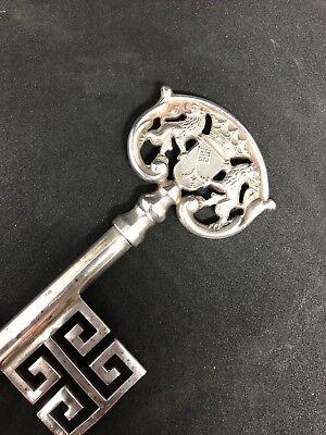 Handmade Silver Lion Bottle Opener Key Chain