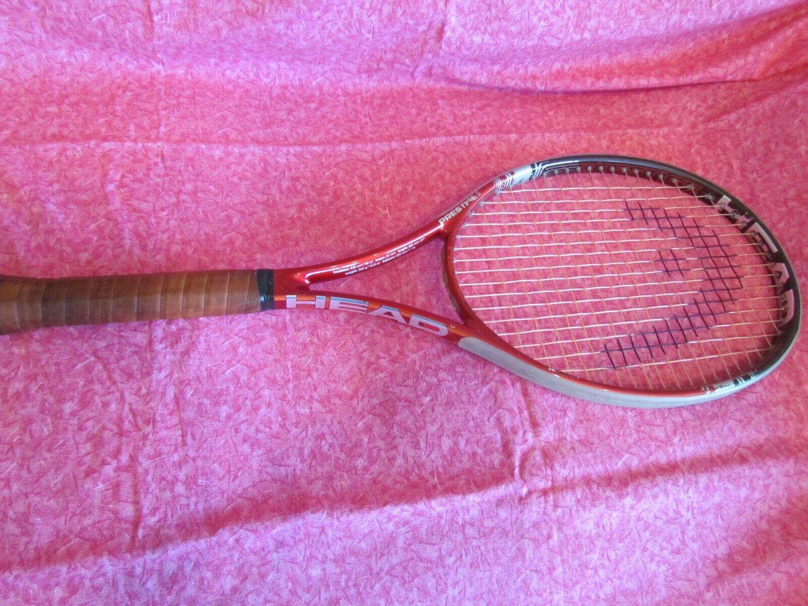 Head Prestige S YouTek IG 4 3 8 (3), 98  tamaño de la cabeza de Agarre Raqueta De Tenis Raqueta