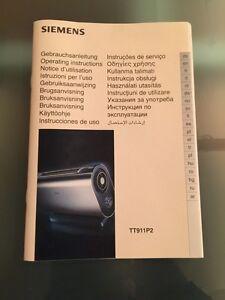 siemens toaster porsche design bedienungsanleitung tt 911. Black Bedroom Furniture Sets. Home Design Ideas