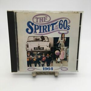 Spirit-of-The-60s-1960-039-s-1964-Rare-CD-Complete-in-CD-Case