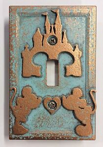 Disney-Castle-Mickey-amp-Minnie-Light-Switch-Cover