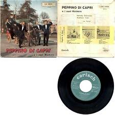 "PEPPINO DI CAPRI - SPEEDY GONZALES+3 7"" EP CAT 23026 CARISH PORTOGALLO"