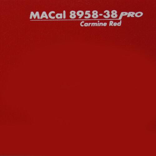 Möbelfolie dunkelrot matt 61,5 cm 5 m Klebefolie für Möbel 4,99 € //m