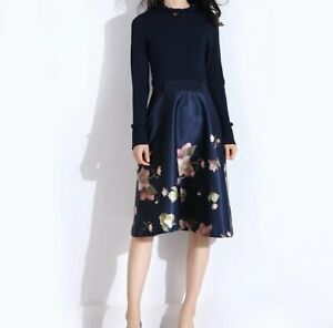 Ted-Baker-SEEMA-Arboretum-Long-Sleeve-Knitted-Bodice-Dress-0-5